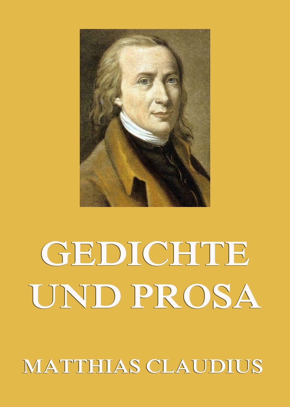 Matthias Claudius Gedichte