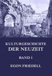 Kulturgeschichte der Neuzeit Band 1