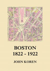 Boston 1822 - 1922